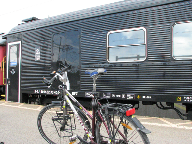 Pyörän Kuljetus Junassa