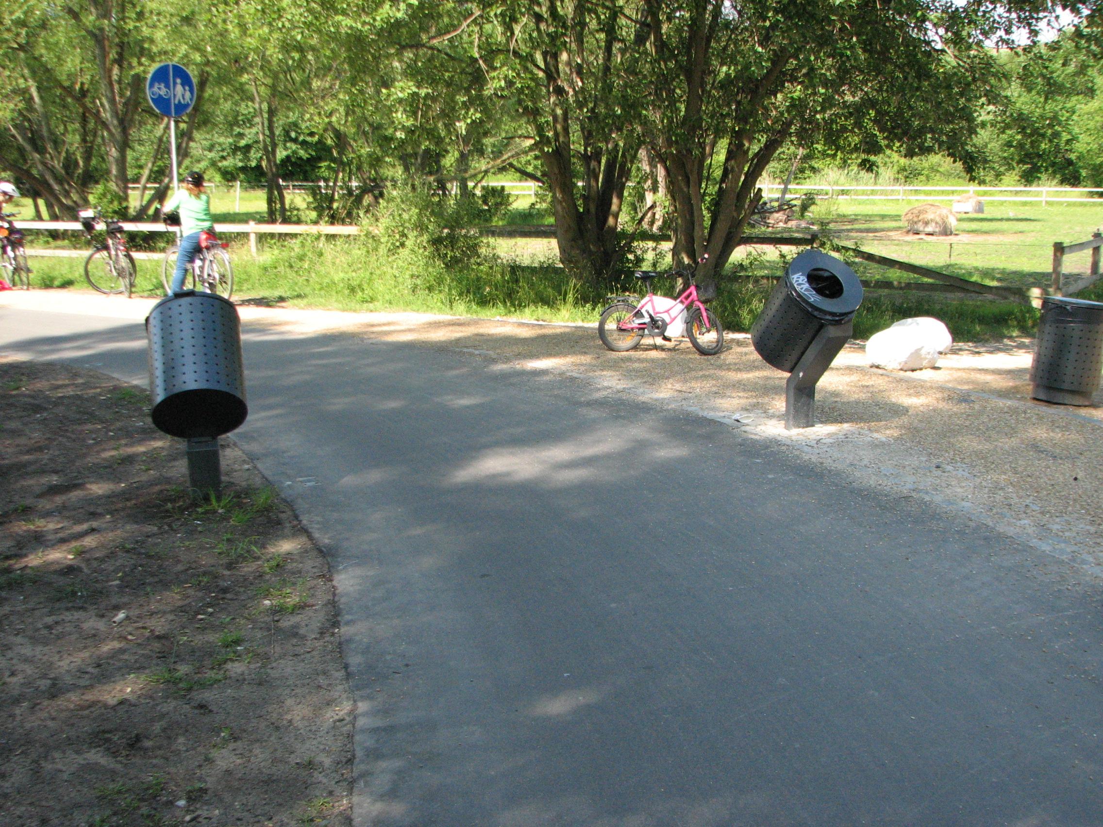 Pyörätien roskakorit Kööpenhaminasta