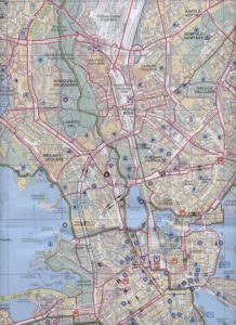 Helsingin uusi pyöräilykartta