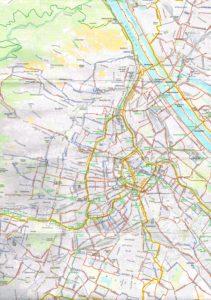 Wienin pyöräilykartta