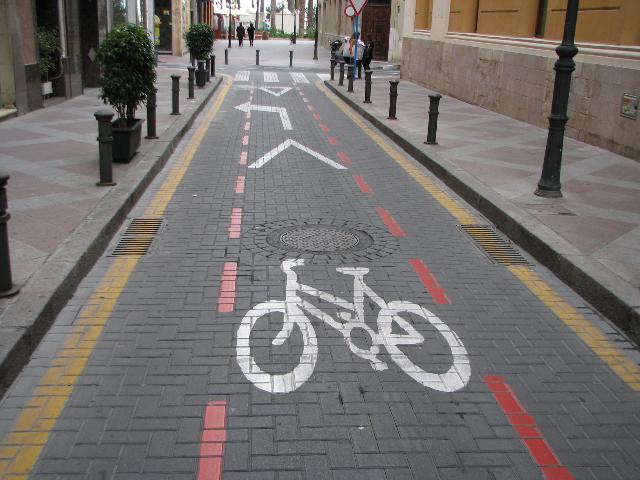 Alicante polkupyöräkatu