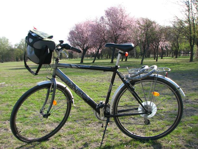 Vuokrapyöräni Budapestissa