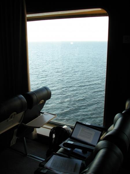 istumapaikkani laivassa